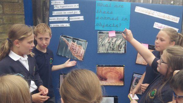 Children sharing Science