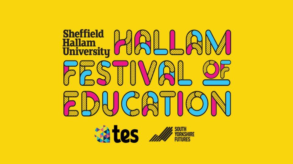 Sheffield Hallam University Festival of Education 2019 logo and link